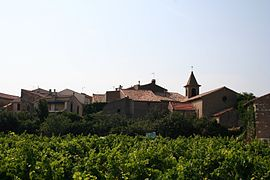 A general view of Saint-Jean-de-Minervois