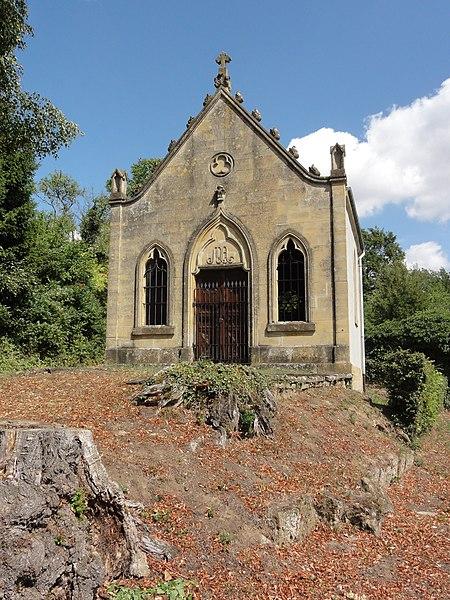 Saint-Laurent-sur-Othain (Meuse) chapelle D 128 extérieur