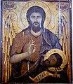 Saint John the Baptist Icon from Saint George Church in Melissourgos.jpg