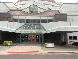 Saint Louis Science Center - Saint Louis Science Center Entrance