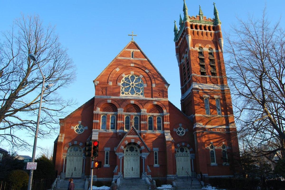 St Peters Catholic Church Worcester Massachusetts