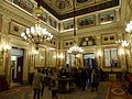 Salón de Conferencias Palacio de las Cortes, Congreso de los Diputados, Madrid, España, 2015 (b).JPG