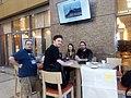 Sam, Max, Marios and Dafna @ WM Hackathon 2017 a.jpg