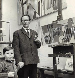 Sam Vanni - Sam Vanni in 1964 with his son Mikko.
