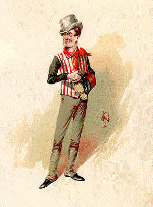 Wellerism - Sam Weller, from a watercolor, c. 1890.