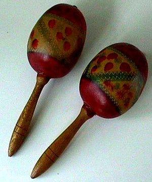 Traditional maracas