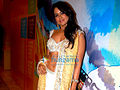 Sameera Reddy walks the ramp for Neeta and Nishka Lulla at the Lakme Fashion Week 2009 (14).jpg