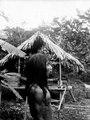 Samme indian med näsprydnad som i foto 004060. Här i profil. Choco. Colombia - SMVK - 004061.tif