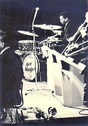 Sam Woodyard - Sam Woodyard in 1965