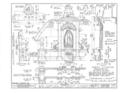 San Carlos Presidio Church, 550 Church Street, Monterey, Monterey County, CA HABS CAL,27-MONT,1- (sheet 12 of 28).png