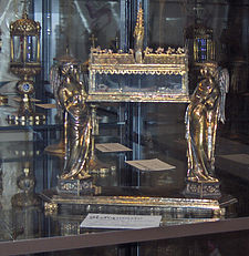 Reliquary of Saint Louis (end 13th c.) Basilica of Saint Dominic, Bologna, Italy