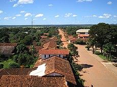 Panorama de San Ignacio de Velasco