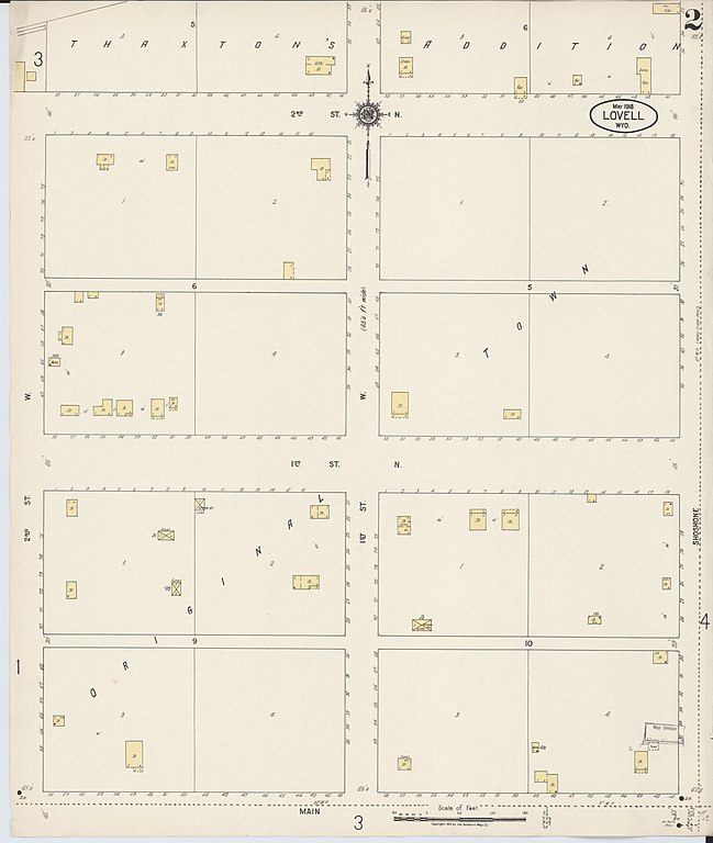 File Sanborn Fire Insurance Map From Lovell Big Horn County