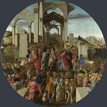 Sandro Botticelli - Adorazione dei Magi - National Gallery London.jpg