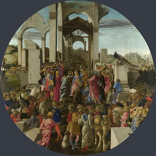 Sandro Botticelli - Adorazione dei Magi - National Gallery London