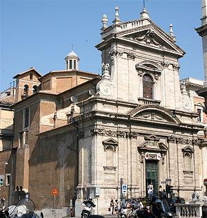 Santa Maria della Vittoria - Façade of Santa Maria della Vittoria