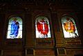 Santa Maria in Trastevere innen Fenster Portal.JPG