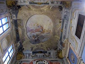 Santa Maria degli Angiolini - Ceiling of Santa Maria degli Angiolini, Florence.