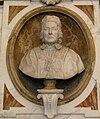 Santo spirito, cappella corsini, busto di clemente XII di girolamo ticciati 02.JPG