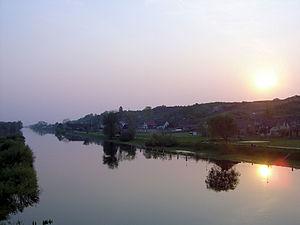 Noteć - Noteć near Santok