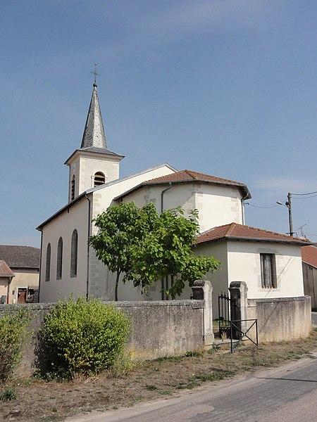 Sanzey (Meurthe-et-M.) église
