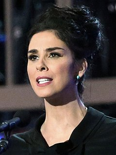 Sarah Silverman American stand-up comedian, actress, producer, and writer