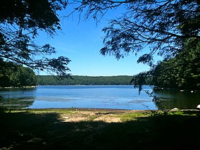 Saugatuck Reservoir from the Saugatuck Trail in Centennial Watershed State Forest.jpg