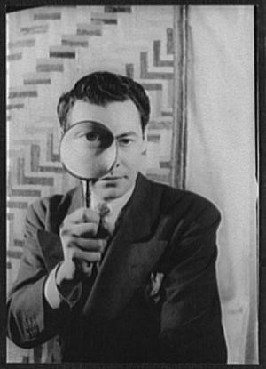 Carl Van Vechten - Carl Van Vechten (1880-1964)/LOC van.5a52382. Saul Mauriber, after a photograph of Salvador Dalí by Halsman, 1944