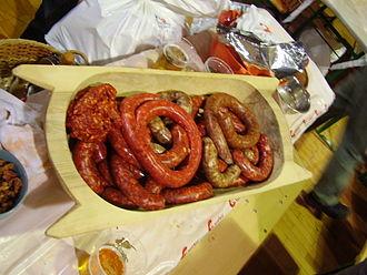 Sausage - Csabai kolbászok (Hungarian csabai sausages)