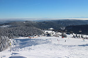Feldberg (Black Forest) - The Seebuck chairlift and piste