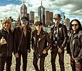 Scorpions in Melbourne, Australia 17.10.2016.jpg