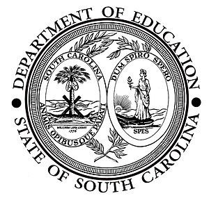 Seal of South Carolina - Image: Seal of the South Carolina Department of Education