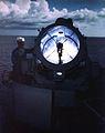 Searchlight aboard USS Missouri (BB-63) 01 in 1944.jpg
