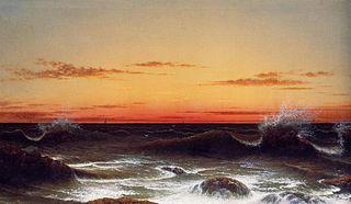 Paysage marin - Coucher de soleil