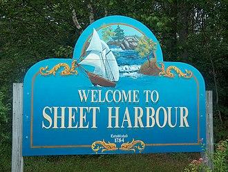 Halifax Regional Municipality municipal election, 2008 - Sheet Harbour