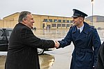 Secretary Pompeo Departs Joint Base Andrews En Route to Iowa (40309848183).jpg