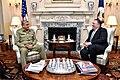 Secretary Pompeo Meets With Pakistani Chief of Army Staff General Qamar Javed Bajwa Nishan-i-Imtiaz (48357310916).jpg
