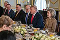 Secretary Pompeo Participates in a Working Breakfast with President Trump and Secretary General Stoltenberg (49163234382).jpg