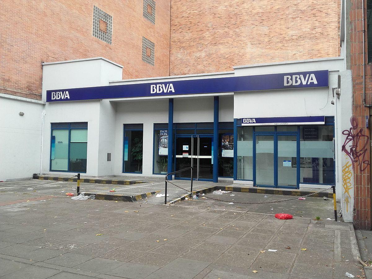Bbva colombia wikipedia la enciclopedia libre for Banco bilbao vizcaya oficinas