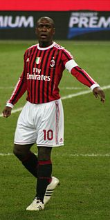 Clarence Seedorf Dutch association football player and manager