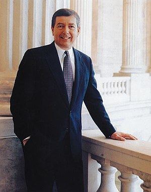 John Ashcroft - Ashcroft's official portrait as Senator.
