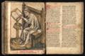 Seneca am Lesepult, um 1410 (Hessisches Hauptstaatsarchiv Wiesbaden Abt. 3004 B 10 fol. 127).tif