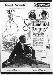Sentimental Tommy - july 1921 - advert - newspaper.jpg