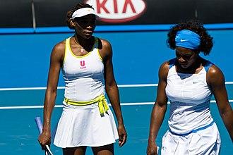 Serena Williams - Serena Williams and Venus Williams, Australian Open 2009
