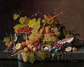 Severin Roesen - Stillleben mit Früchten und einem Vogelnest.jpg