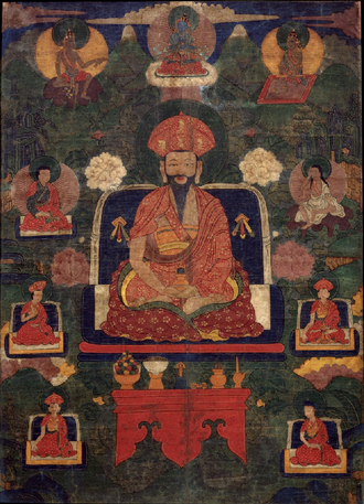 Second Battle of Simtokha Dzong - Zhabdrung Rinpoche Ngawang Namgyal, military leader and founder of Bhutan.
