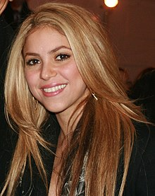Description de l'image  Shakira2009.jpg.