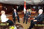 Sharm El Sheikh, Egypt, on September 14, 2010