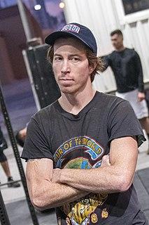 Shaun White American snowboarder and skateboarder