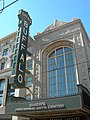 Shea's Performing Arts Center marquee (2009).jpg